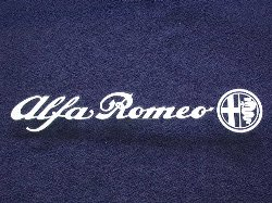 Alfa Romeo Logo & Emblem Sticker (200mm)