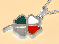Quadrifoglio Sterling Silver Neckless (for Women)