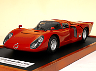 1/12 Alfa Romeo TIPO33/2 Road Version Miniature Model
