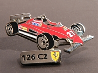 Ferrari Official Pin Badge(126C2)by BOLAFFI