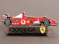 Ferrari Official Pin Badge(F2003-GA)by BOLAFFI