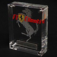 Ferrari F1 CLIENTI 2005 Plex-Glass Object