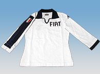FIAT Letterd Rugger Shirts(Ladys/Long Sleeves)