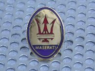 MASERATI Pin Badge(Emblem)