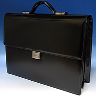 Pininfarina Leather Business Bag