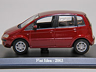 1/43 FIAT Story Collection No.16  IDEA ミニチュアモデル