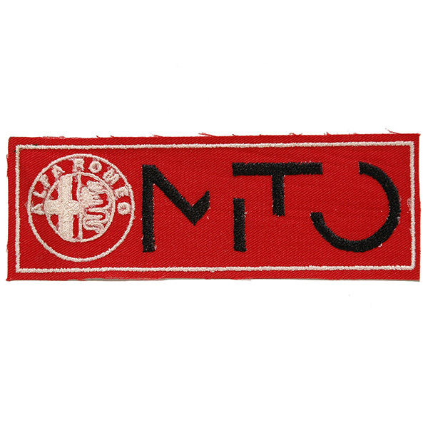 Alfa Romeo Emblem & MiTo Logo Patch (Red)