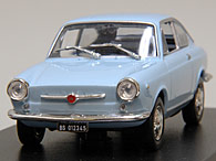 1/43 FIAT Story Collection No.17 FIAT 850 coupe 1965 Miniature Model