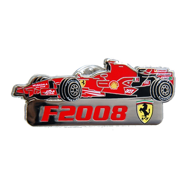 Ferrari F2008 Pin Badge by BOLAFFI