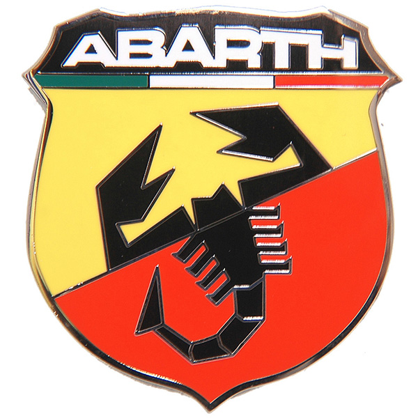 New ABARTH Metal Emblem (Large)