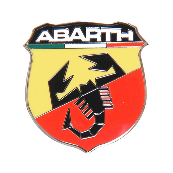New ABARTH Metal Emblem (Small)