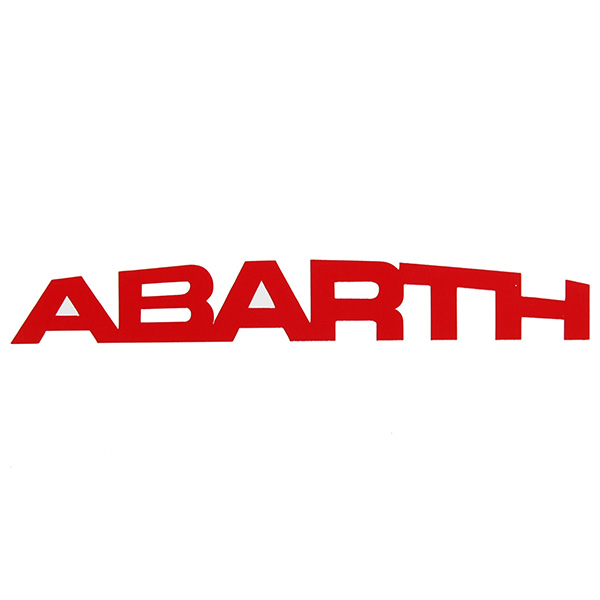 ABARTH New Logo Sticker