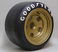 Scuderia Ferrari 1973 F1 312B3 Front Tire & Wheel Set