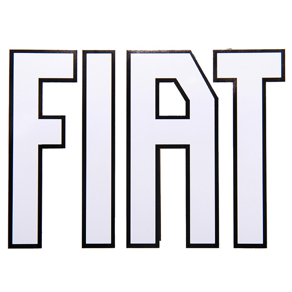 FIAT Old Logo Sticker