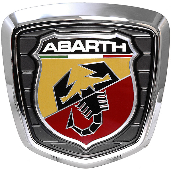 ABARTH 500 Rear Emblem<br><font size=-1 color=red>11/18到着</font>