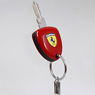 Ferrari Enzo Ferrari Key Shaped Keyring