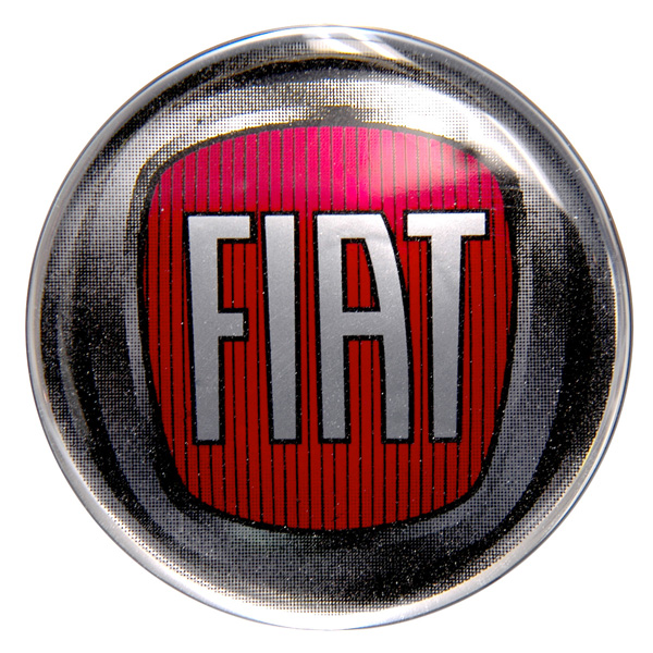 FIAT 2007New Emblem 3D Sticker (75mm)