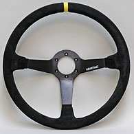ABARTH FOUNDATION OFFICIAL ABARTH & C Steerling Wheel (DELTA SAFARI/Back Skin/380mm)