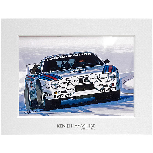 LANCIA 037 RALLY Illustration by Kenich Hayashibe