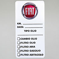FIAT Meintenance Sticker (Set of 3pcs.)