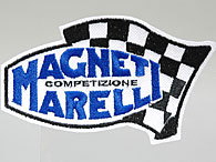 MAGNETI MARELLI Logo & Checkerd Flag Patch