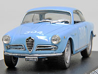 1/43 1000 MIGLIA Collection No.10 Alfa Romeo GIULIETTA SPRINT VELOCE Miniature Model