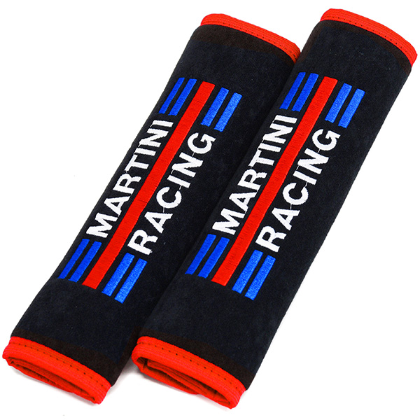 MARTINI RACING Schoulder Pad (Red Trim)