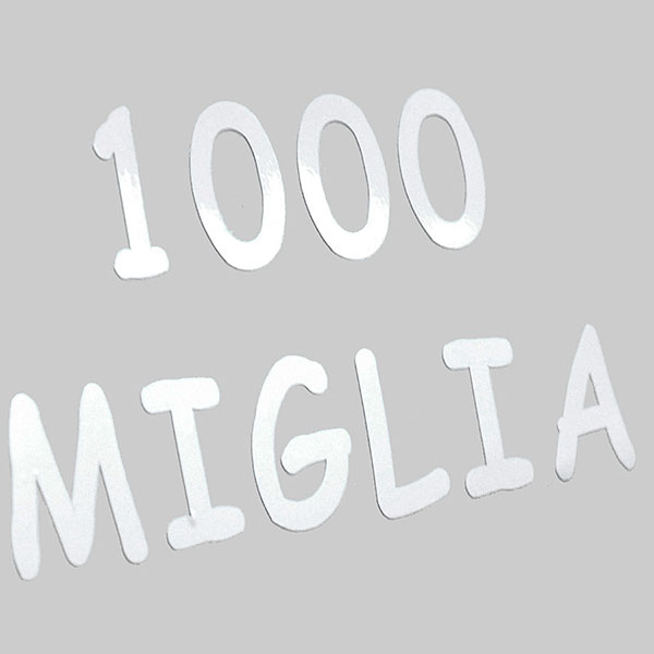 1000 MIGLIA Logo Sticker (Die-Cut/small)