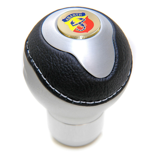 BLACK Gear Knob -TUNE IT- (Normal/ABARTH Emblem)<br><font size=-1 color=red>02/21到着</font>