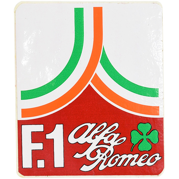 Alfa Romeo F1 Promotion Sticker (Logo Type)