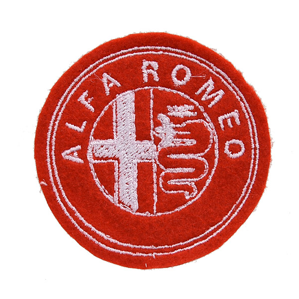 Alfa Romeo Emblem Patch (Red Base)