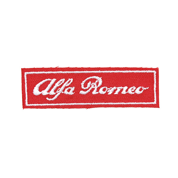 Alfa Romeo Logo Patch (Red Base)