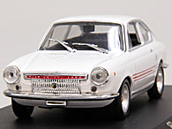 1/43 ABARTH Collection No.29 ABARTH OT1300/124 Miniature Model