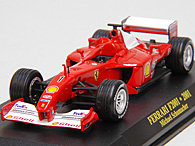 1/43 Ferrari F1 Collection No.22 F2001 No.1 Miniature Model