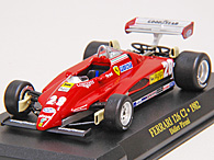 1/43 Ferrari F1 Collection No.25 126C2 No.28 Miniature Model