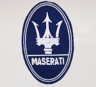 MASERATI Emblem Patch (Navy)