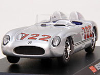 1/43 1000 MIGLIA Collection No.19 Mercedes 300 SLRミニチュアモデル