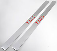FIAT Door Step Guard (500 Logo/Set of 2pcs.)