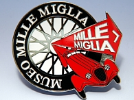 MUSEO MILLE MIGLIA Official Grill Emblem