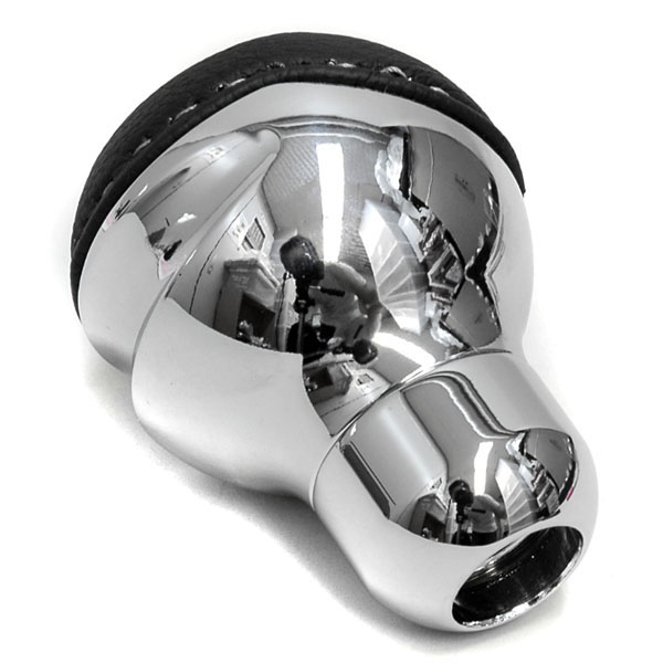 BLACK Gear Knob -TUNE IT CHROME- (Normal/Quadrifoglio Emblem)
