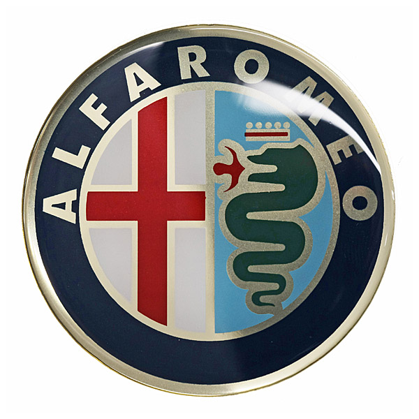 Alfa Romeo Emblem 3D Sticker (Color/60mm)