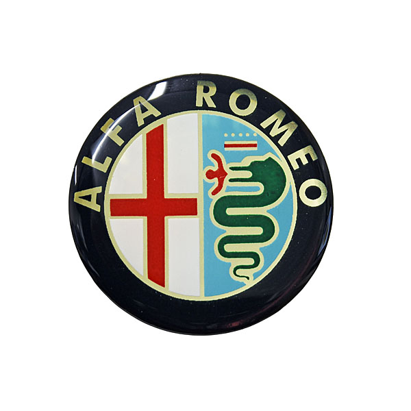 Alfa Romeo Emblem 3D Sticker (Color/34mm)