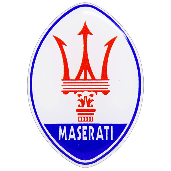 MASERATI Emblem 3D Sticker (Large)
