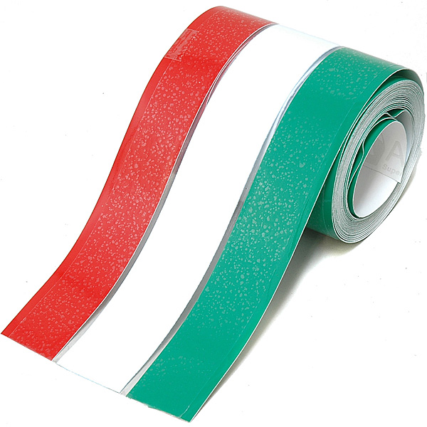 Italian Flag Color Stripe Sticker (80mm/5m)