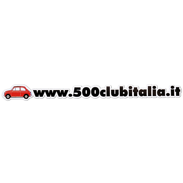 FIAT 500 Club Italia  www.500clubitalia.it Sticker<br><font size=-1 color=red>02/09到着</font>