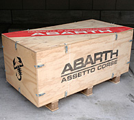 ABARTH Wood BOX for ASSETTO CORSE Kit