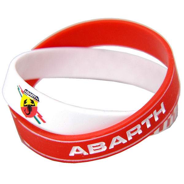 ABARTH Rubber Blacelet (Set of 2pcs.)