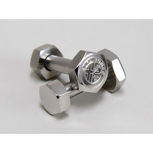 Alfa Romeo Bolt & Nut Shaped Cuffs