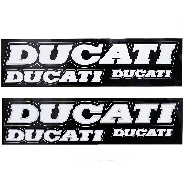 DUCATIロゴステッカー6枚組<br><font size=-1 color=red>11/19到着</font>