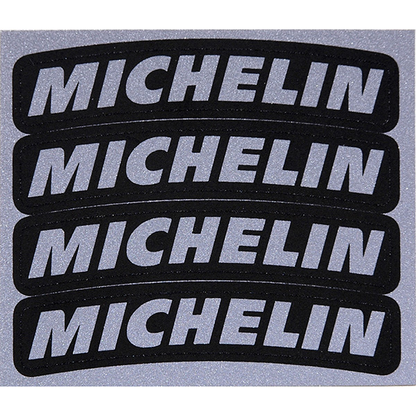 MICHELIN Logo Sticker for Tire (4pcs.)